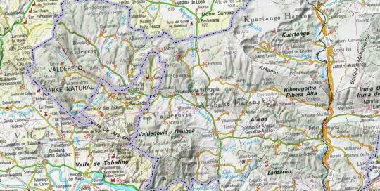 Cartografia escala 500