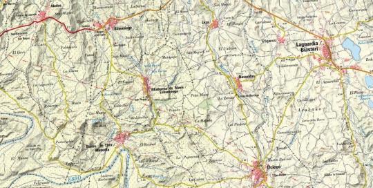 Cartografia Diputacion Foral Alava